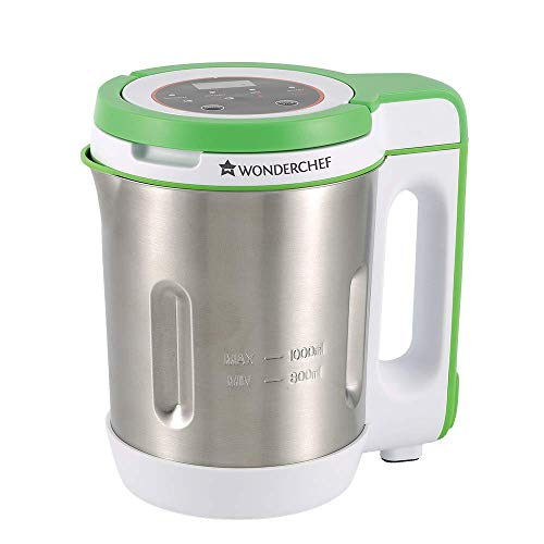 Wonderchef 63152796 140 Watt Soup Machine (Silver / Green)