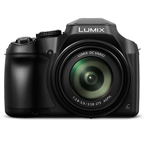 PANASONIC Lumix FZ80 4K digital camera, 18.1 megapixel video camera, DC VARIO 20-1200mm 60X zoom lens, F2.8-5.9 aperture, O.I.S aperture ....